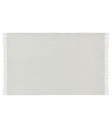 mantas blanco de pura lana virgen