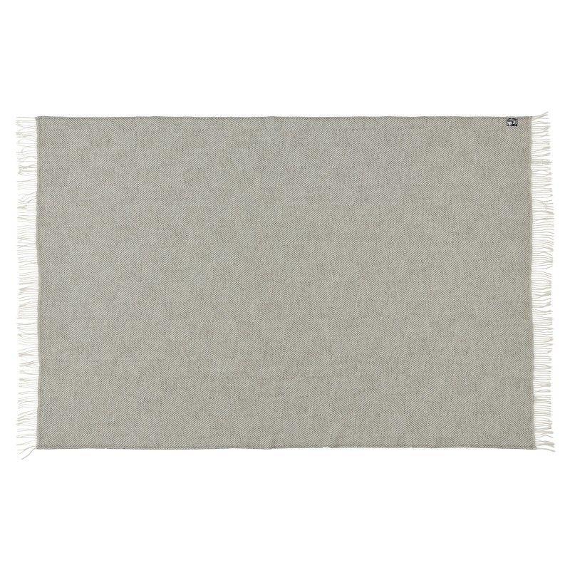 Plaid gris chevron en pure laine vierge scandinave. Loading zoom c1157e20379