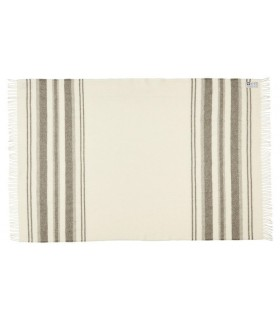 Pure Anthrazitgrau Quadrate Plaid wolle skandinavischen 140 x 240 cm