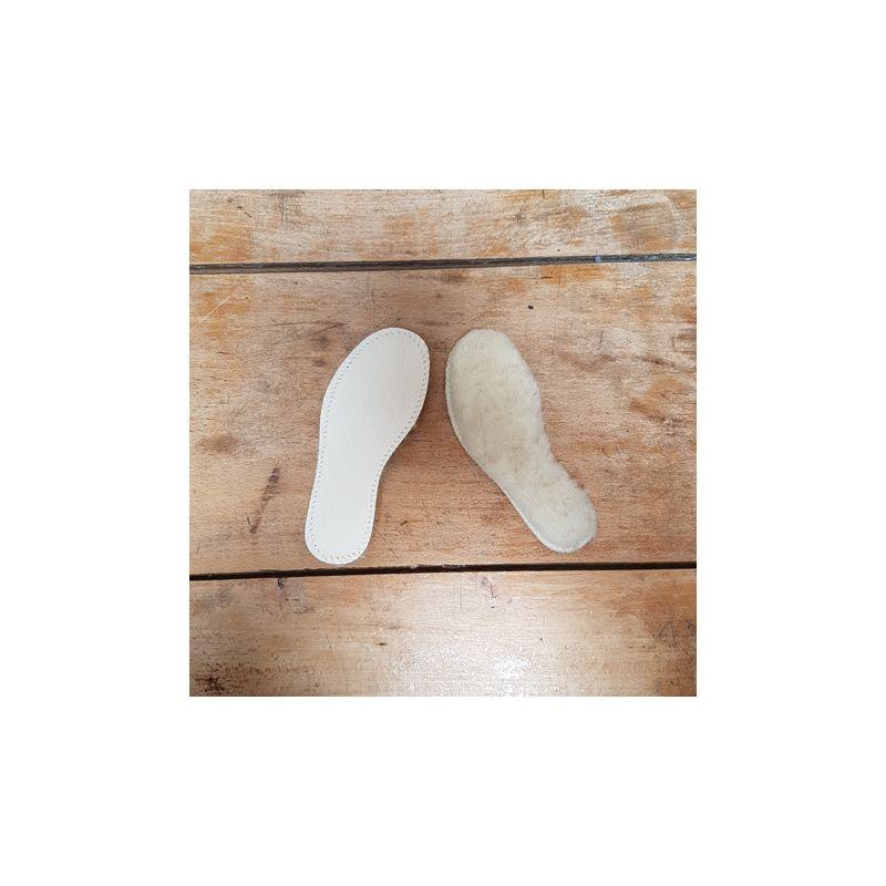 4d396202b20b5 semelles intérieures de chaussures ENFANTS en peau de mouton ...