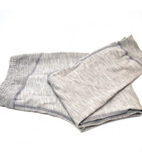 Men's pure merinowool sport cuffed pant grey