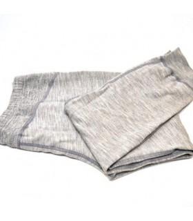 Sport jacke für herren reine merino wolle grau
