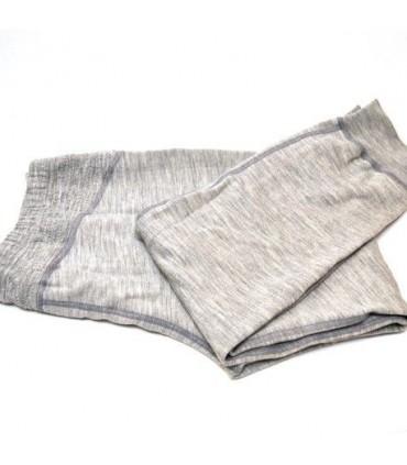 Men's pure merinowool sport cuffed pant grey