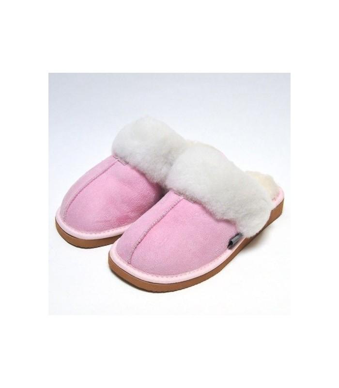 Men's nordic slippers in guenuine lambskin