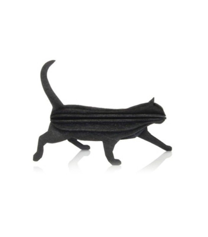 Cat black LOVI decoration mail