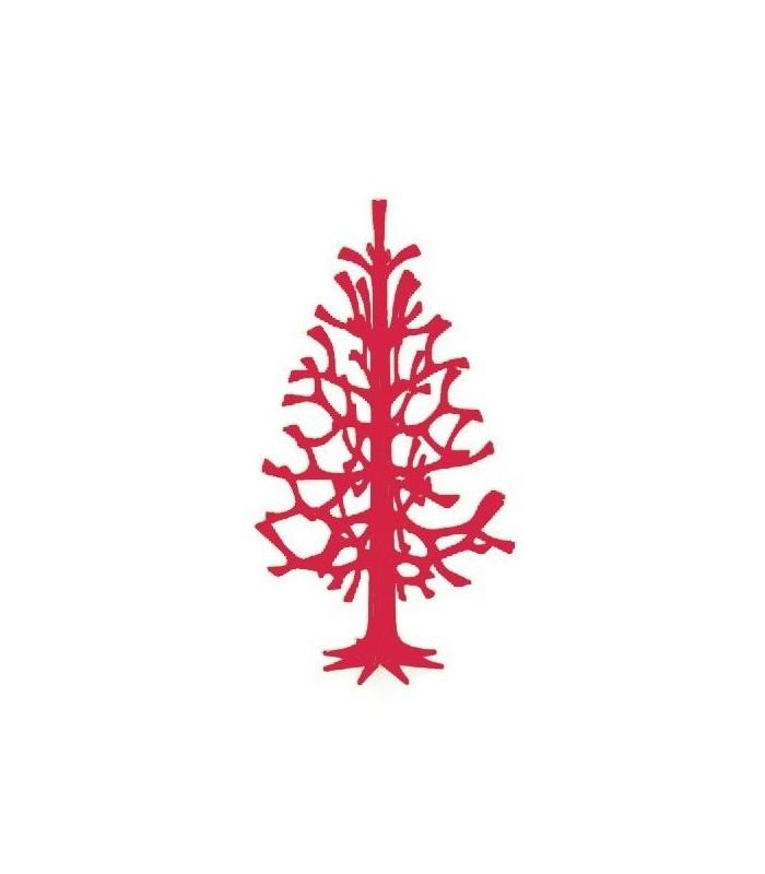 Arbre de décoration en bois de bouleau rouge LOVI