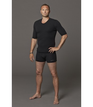 men's boxershorts in pure merino wool blue grey green black