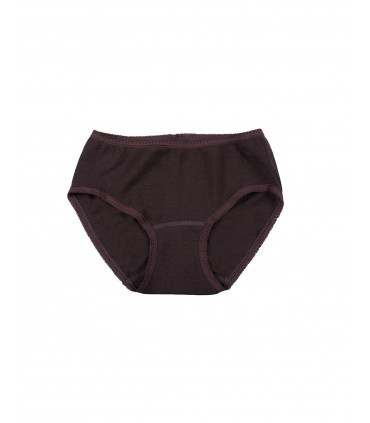 Women panty in pure merino wool
