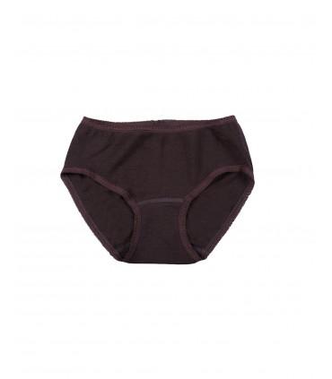 Women panty in pure merino wool