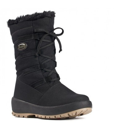 Women's snow boot with Stainless steel studs OC System Olang
