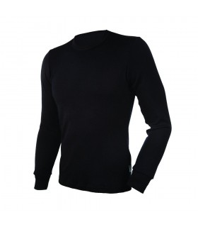 Shirt men long sleeve merino wool