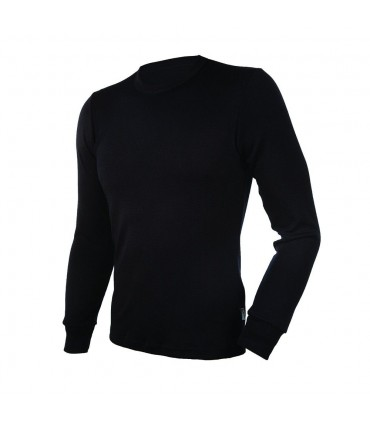 man Jersey shirt long sleeves pure Merino Wool