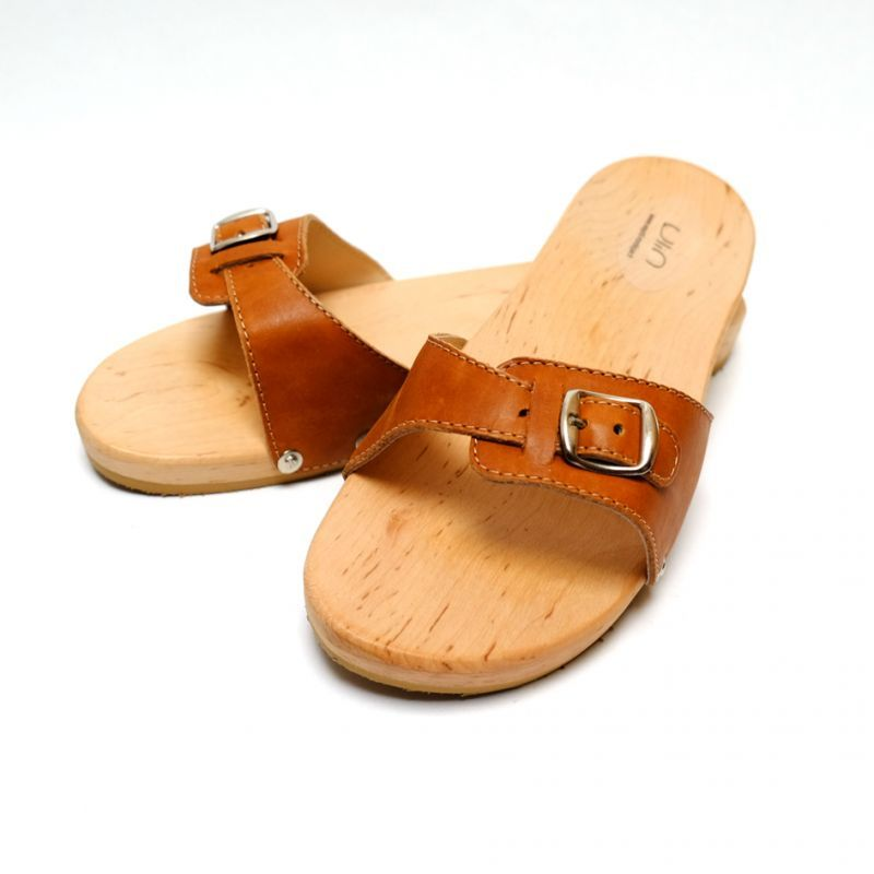 c72cc6de1 Men s and women s wooden sandals in wood and leather