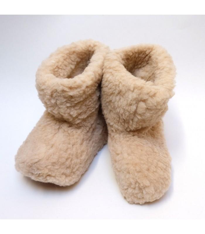 half off 182c9 4f8b3 Hausschuhe Ultra warm und weich Wolle 100 % - Wärmetherapie