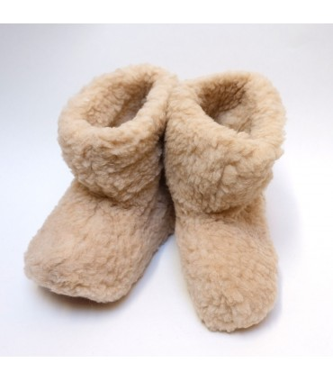 Pure Wool boots slippers kid's