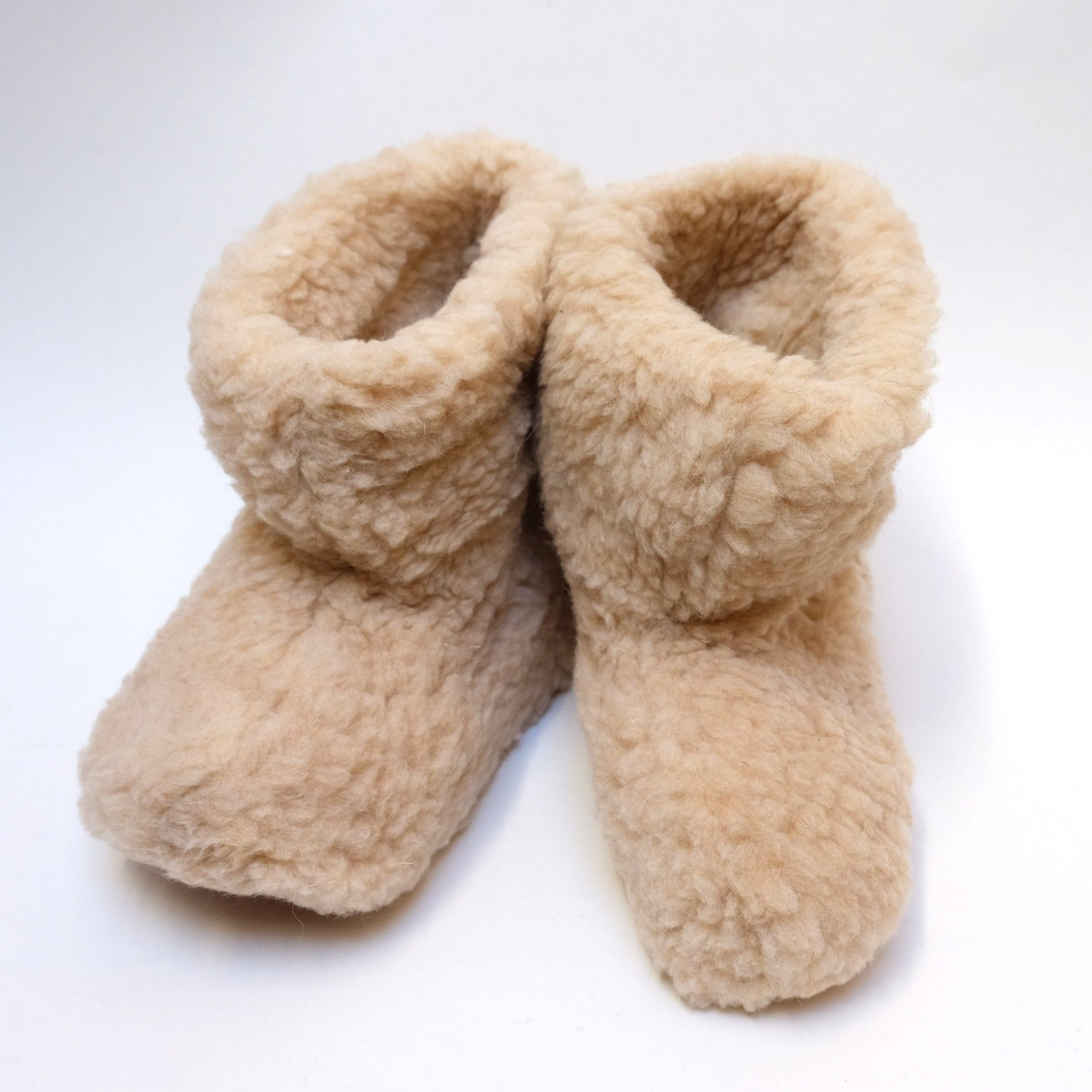 c348650c643ba Chaussons enfants ultra chauds et doux en pure laine - thermotherapie