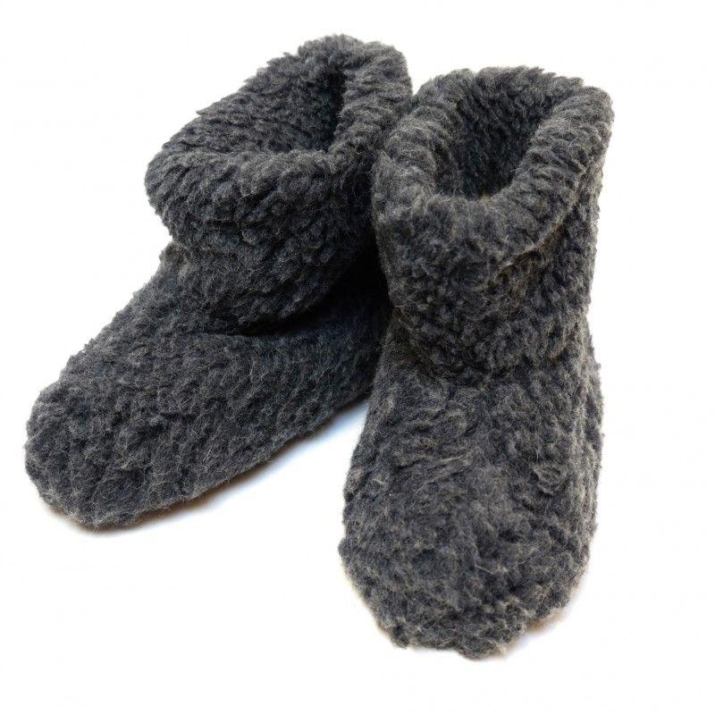 6d8ee9b9dcfe7 Chaussons ultra chauds et doux en pure laine - thermotherapie