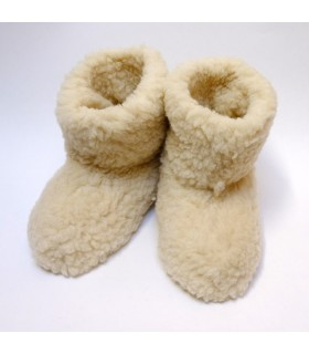 Botas de pura lana caliente zapatillas