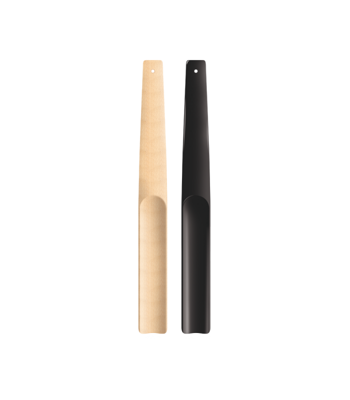 Chausse-pied scandinave en bois naturel petit modèle