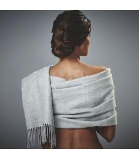 Luxuriöse reine Baby Alpaka Wolle Stola für Damen