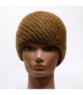 Bonnet femme kaki
