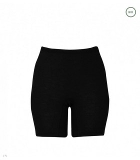 Short long black woman 100% Merino Wool