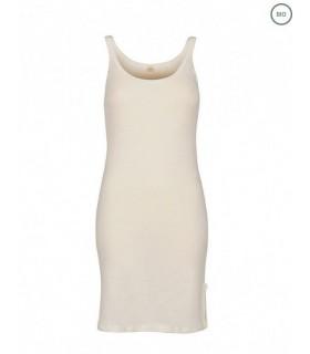 Merino Rippshirt für Damen dunkelgrau oder schwartz meliert