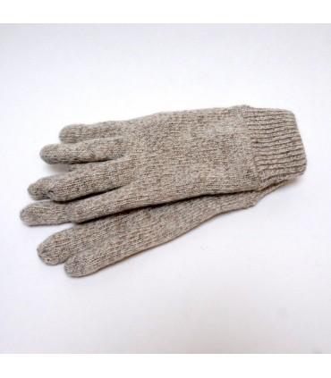 gants homme gris en laine et thinsulate