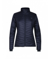 Light and insulating ladies jacket for spring and winter