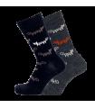 Women's merino wool socks jacquard Bengt & Lotta