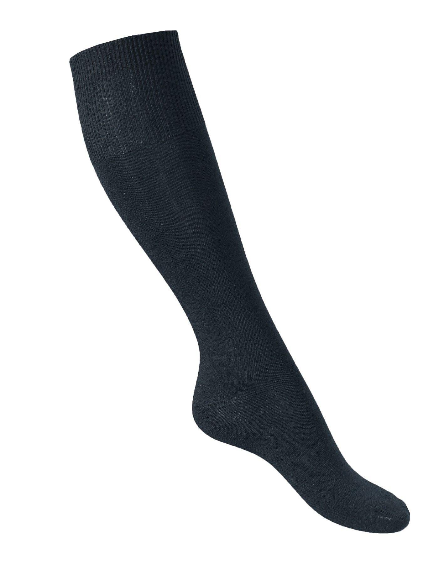 e06aa1a18de Chaussettes chaudes hautes femme 75% laine mérinos très fines