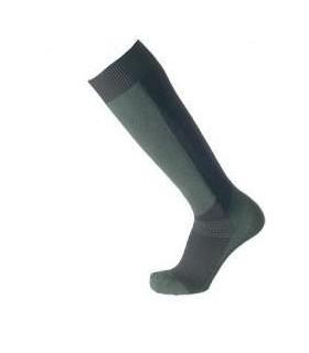 Chaussettes hautes coolmax kaki et noires