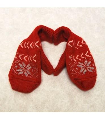 Mittens Merino wool and Nordic jacquard patterns