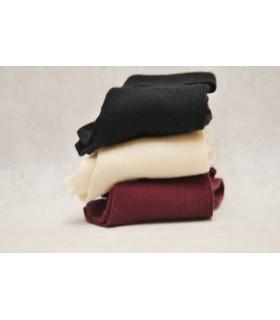 chaussettes 90% laine mérinos à jacquard nordique
