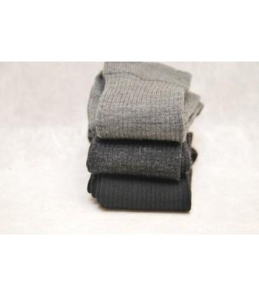 Chaussettes ville laine mérinos non comprimantes