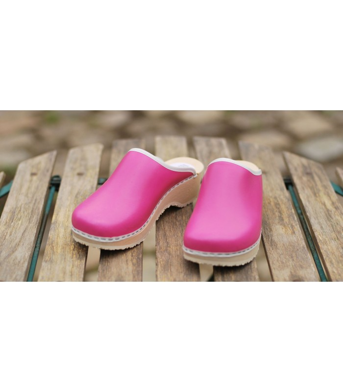 T leather pink