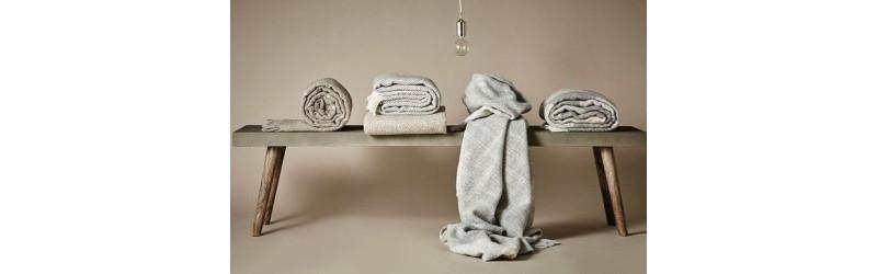 Plaids en laine 100% et plaids baby alpaga 100%
