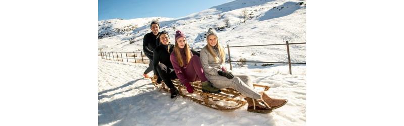 Jerseys jaquards nórdico pura lana - chaquetas y capas de lana