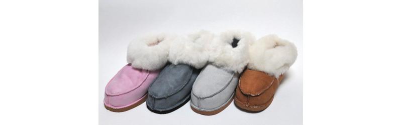Guenuino piel de cordero o pura lana Zapatillas - Esprit Nordique