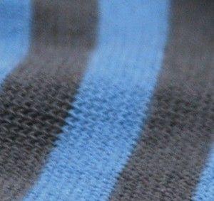 rayé gris f bleu